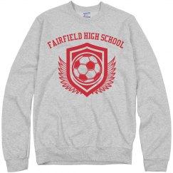 Soccer Shield Sweatshirt
