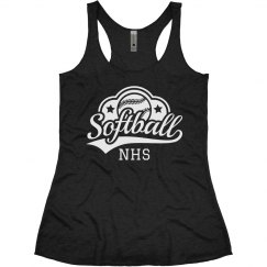 Softball Initials Tank
