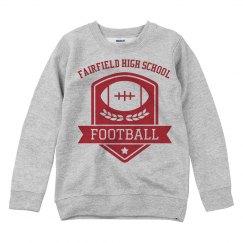Football Badge Sweatshirt