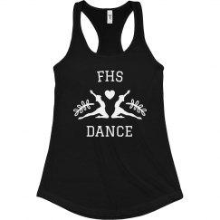 Initials Dance Heart