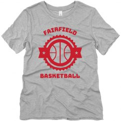 Basketball Sticker Tee