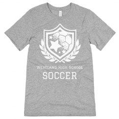 Soccer Shield Leaves