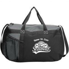 Softball Logo Bag
