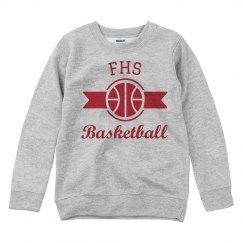 Basketball RIbbon Sweater
