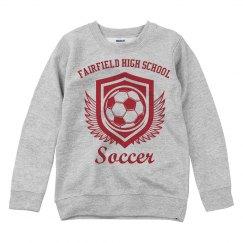 Soccer Shield Sweater
