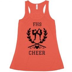 Cheer Leaves Heart