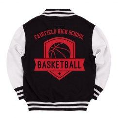 Basketball Badge Youth Jacket