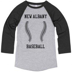 Baseball School Logo