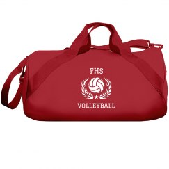 Volleyball Flames Bag