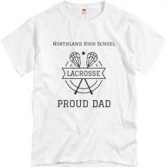 Proud Lacrosse Dad
