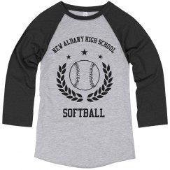 Softball School Logo Image