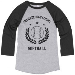 Softball School Logo Image