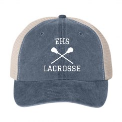 Lacrosse Initials Hat