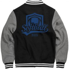 Softball Initials Jacket