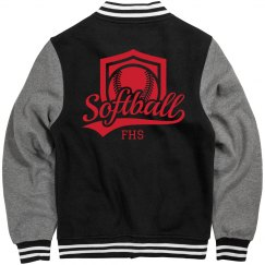 Softball Initials Jacket