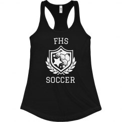 Soccer Initials Tank