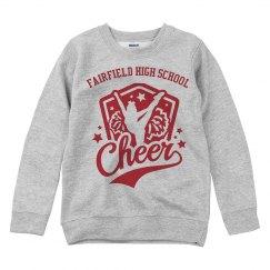 Cheer Logo Sweater