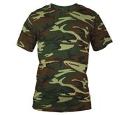 Code Five Unisex Camouflage Tee