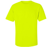 Gildan Unisex Ultra Cotton Safety Neon Crewneck Tee
