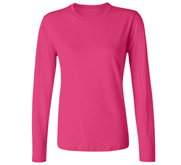 Port & Company Ladies Relaxed Fit Basic Long Sleeve Tee